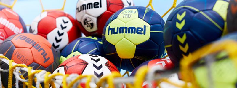 гандбольные мячи, спортивные аксессуары Hummel