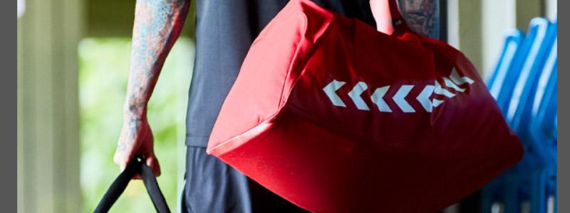 спортивные сумки, спортивные аксессуары Hummel