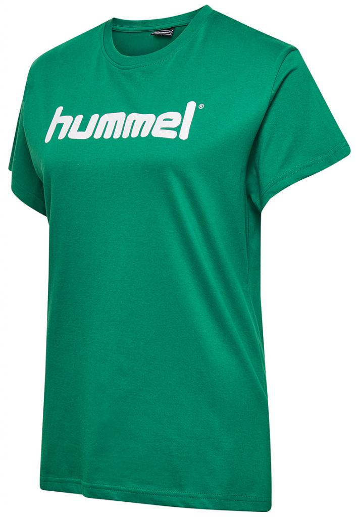 Футболка женская HMLGO COTTON LOGO T-SHIRT WOMAN S/S
