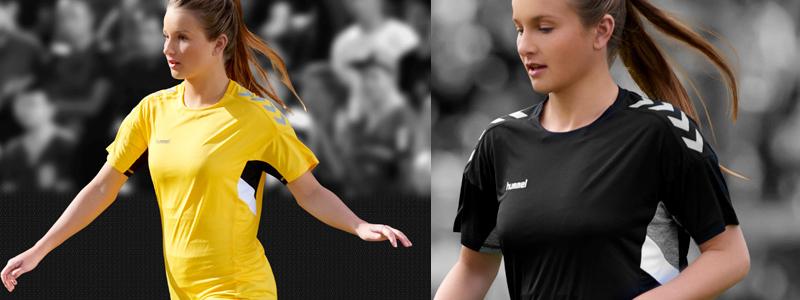Спортивные женские футболки