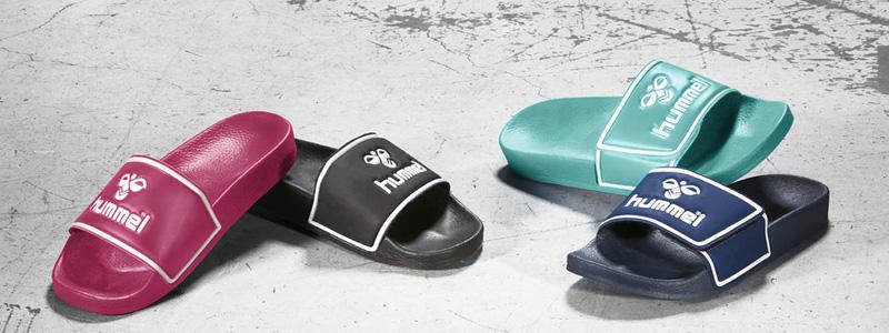 Полотенца и обувь для пляжа, бассейна